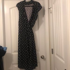Jcrew wrap dress. Only worn once!